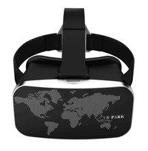 อัพเกรดความเป็นจริงเสมือนสีดำ3D VRแว่นตาชุดหูฟังสำหรับ4-6นิ้วAndroidและIOSมาร์ทโฟน