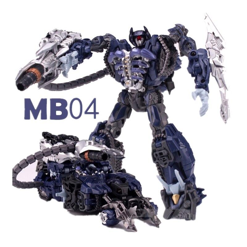 Lensple Transformation Movie MB04 MB-04 Shockwave Robot Action Figure Toys shockwave