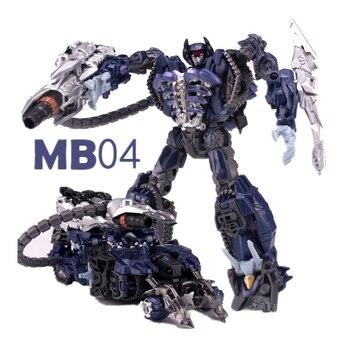 Lensple Transformation Movie MB04 MB-04 Shockwave Robot Action Figure Toys