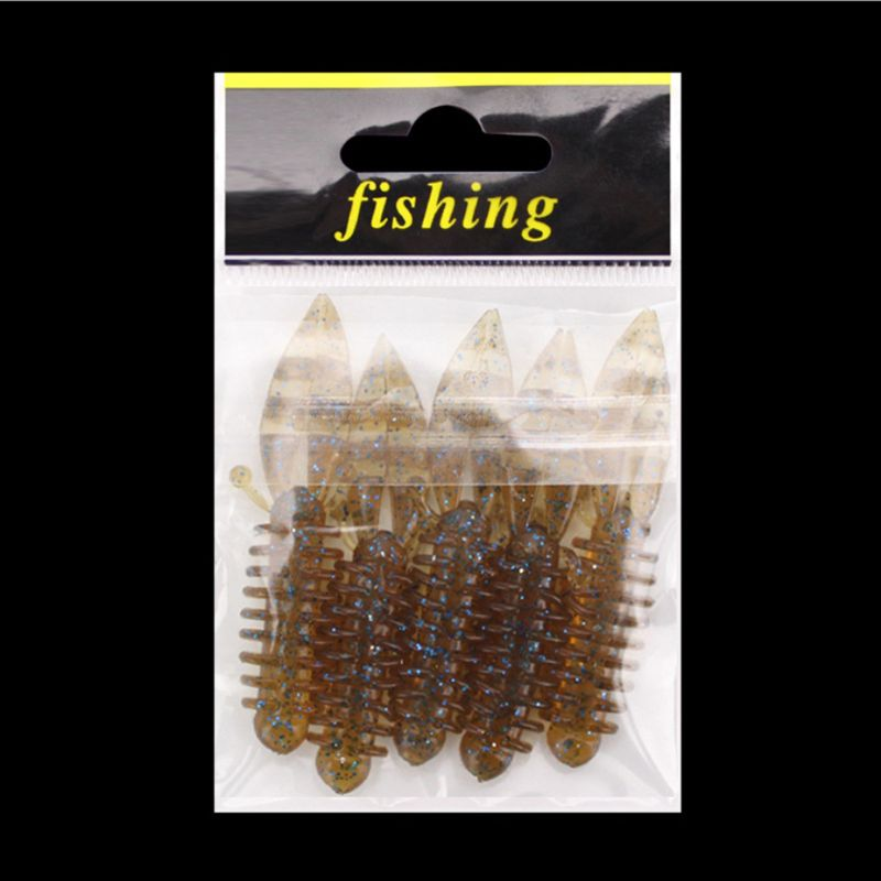 5 Pcs pack Soft Bait Bubble Mini Shrimp Bionic Stereoscopic Insect Reflective Fake Baits Built in Sequins Fishing Accessories in Fishing Lures from Sports Entertainment