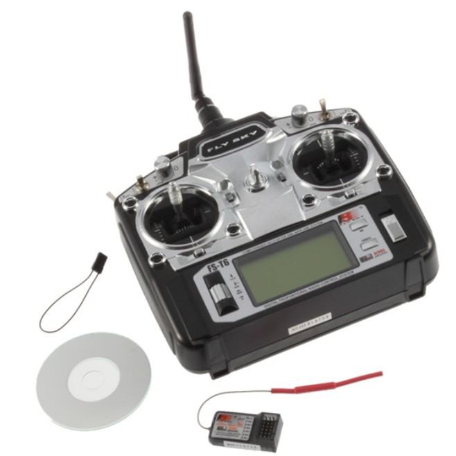Flysky FS T6 FS T6 Mode 2 6ch 2 4g with LCD Screen Transmitter with FS