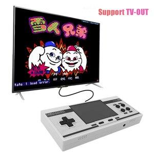 Image 3 - RS88 Familie Tasche Spielkonsole Retro Tragbare Mini Handheld Spiel Player Eingebaute 348 Klassische Spiele 3,0 Zoll Farbe LCD Für NES G