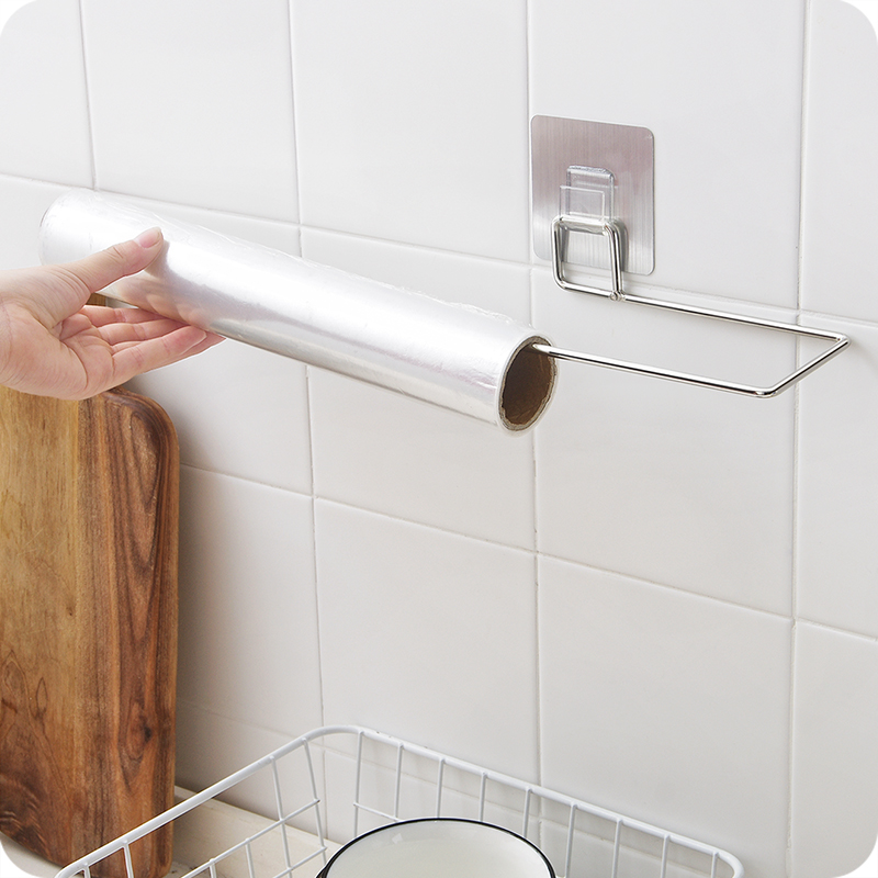 Papier Handtuch Halter Selbst Klebe Küche Schrank Speisekammer Wand ...