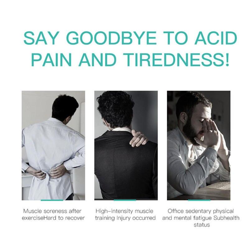 Tissue Massage Gun Spier Stimulator Spier Pijnbestrijding na Training Oefenen Body Ontspanning Afslanken Vormgeven Pijnbestrijding - 2