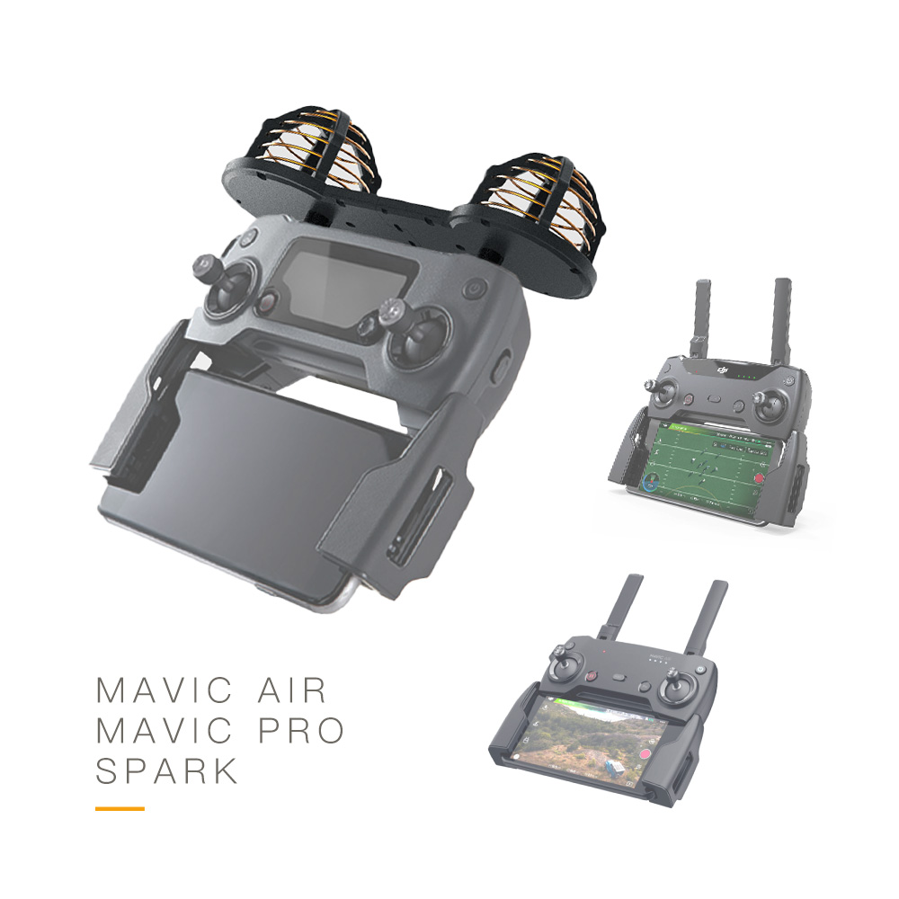 A distanza di Controllo Modificato 16DBi Circolare Polarizzazione Antenna 2.4G e 5.8G Dual band di Frequenza per DJI Mavic Aria /Pro/Spark - 2