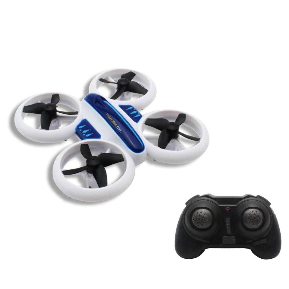 JINXINGDA 532 Mini Drone néon RC quadrirotor maintien d'altitude 3D Flip lumière LED Mode sans tête 360 Flip pour enfants jouet