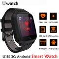 Nova u11s smart watch 3g wcdma sim monitor de freqüência cardíaca Smartwatch Android WIFI GPS Dispositivos Wearable Homens Mulheres Para O Telefone relógio de pulso
