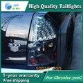 Estilo do carro Cauda Lâmpada para Chrysler 300C 2005-2009 luzes traseiras Da Cauda Luzes Traseiras LED Lamp LED DRL + Freio + parque + Sinal De Parada Da Lâmpada