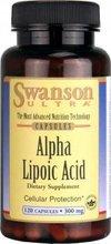 Alpha Lipoic Acid 300 mg 120 Caps  from Swanson Ultra free shipping