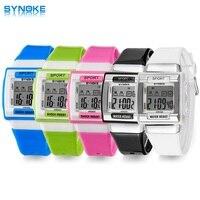 SYNOKE Kids Electronic Wrist Watch Digital Montre Enfant Shockproof Waterproof Children S Watches For Boys Girls
