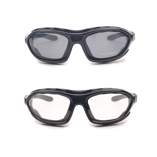 9fc09888d13fc Motorcycle Goggles Polarized Clear 2 Pairs Day Night