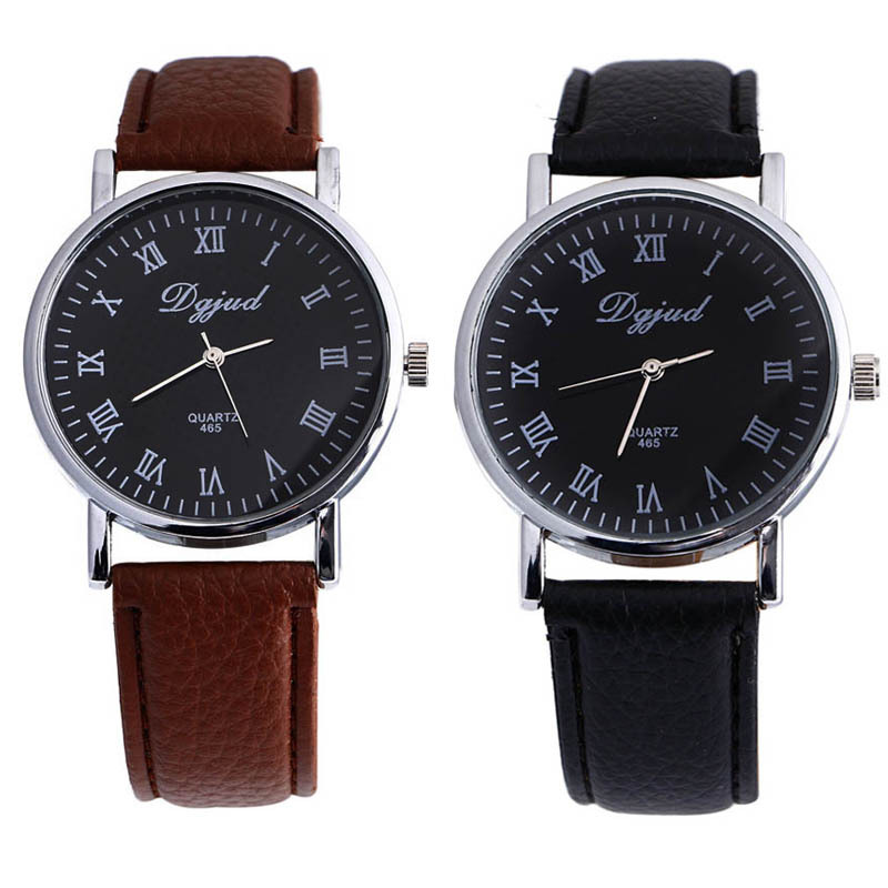 xiniu New Business Casual Dress Watches Men PU Leather ...