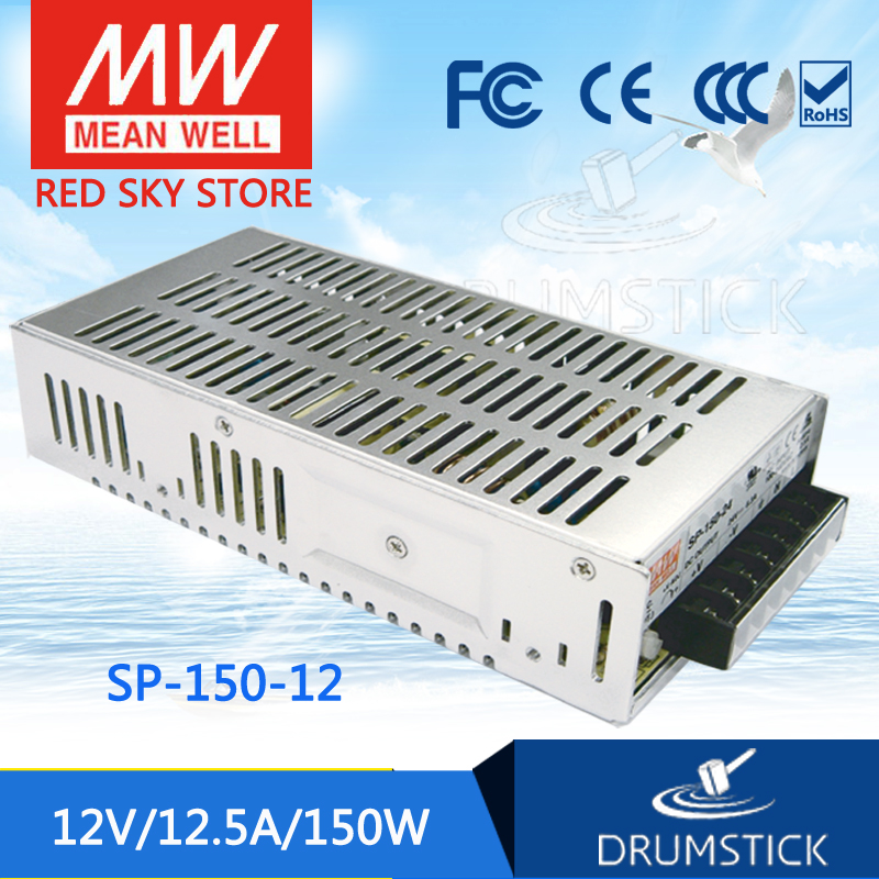 цена на MEAN WELL SP-150-12 12V 12.5A meanwell SP-150 150W Single Output with PFC Function Power Supply [Real1]