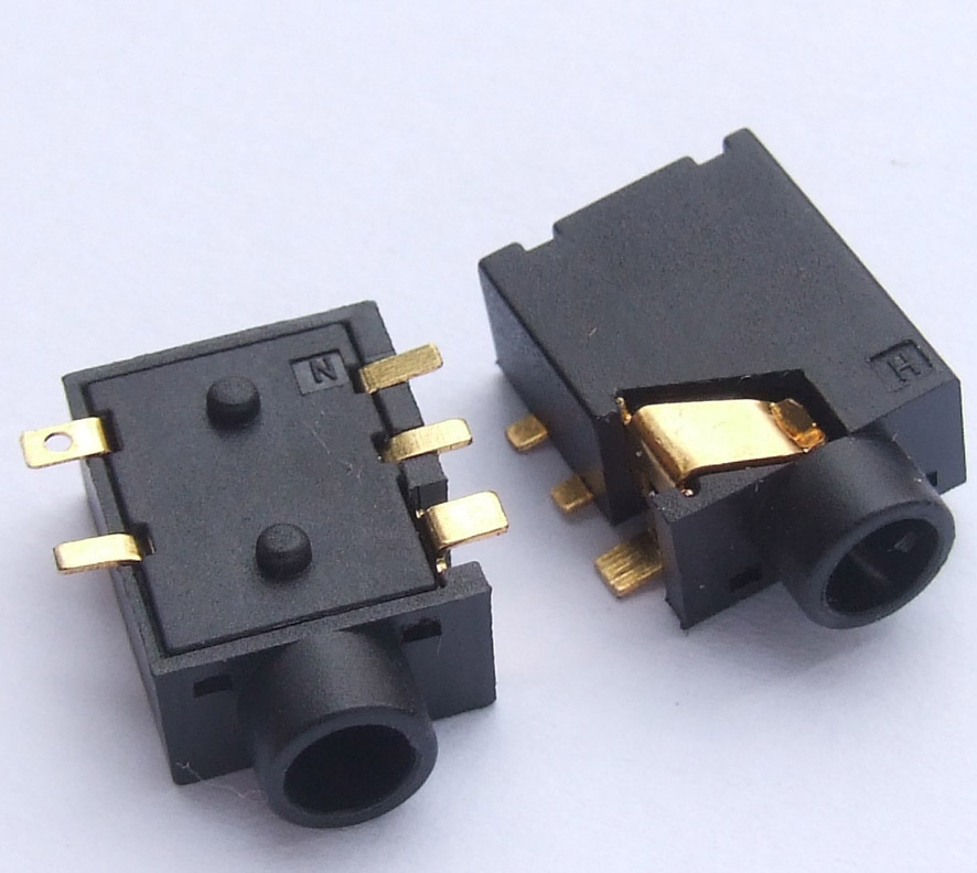 5 Pin 1  8 U0026quot  3 5mm Stereo Jack Socket Pcb Smd For 3 5mm Headphones Headset