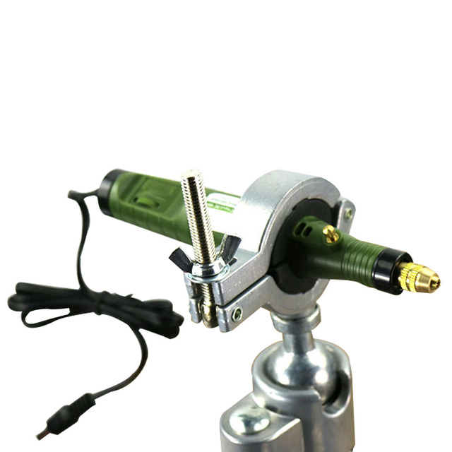 HOT Grinder Accessory For Dremels holder hanger stand Electric Drill Stand for Dremel Rack Multifunction bracket stand clamp