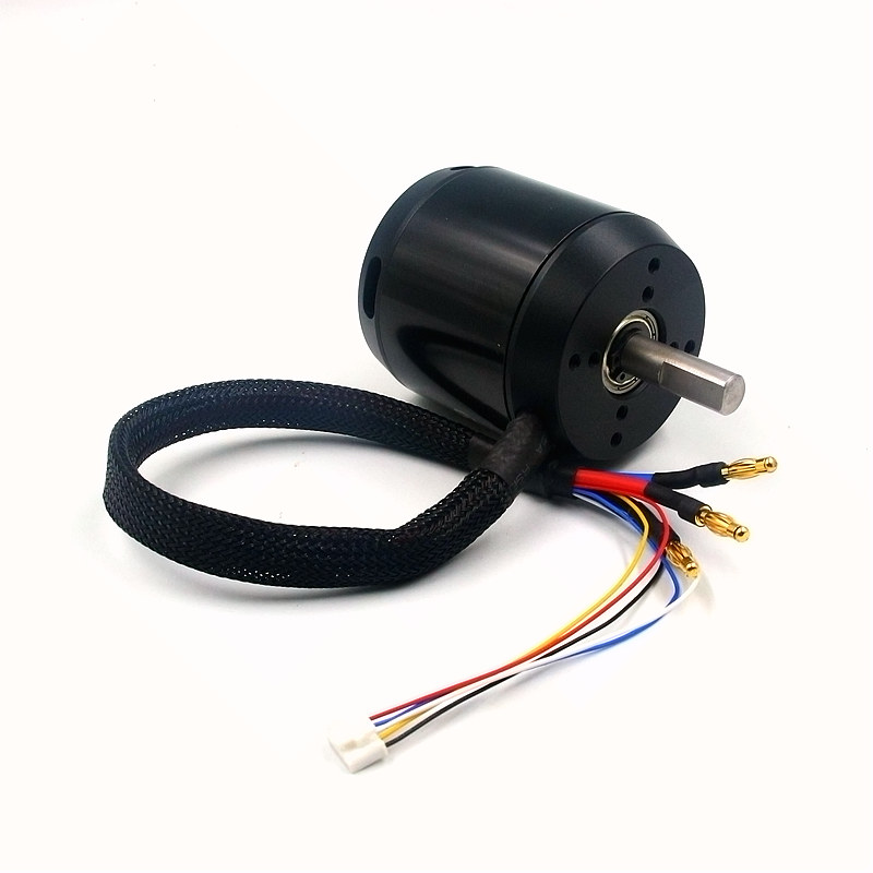 ESK8 6368 BLDC moteur sans balais 190KV 280KV capteur sans capteur 22-48 V pour équilibrage électrique scooter e-skateboard