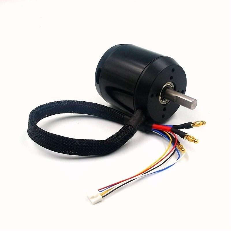 ESK8 6368 BLDC outrunner brushless moteur 190KV 280KV sensored sans capteur 22-48 v pour électrique équilibrage scooter e- planche à roulettes