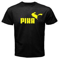 New POKEMON Pikachu Parody Men's BlaT-Shirt Size S M L XL 2XL 3XL