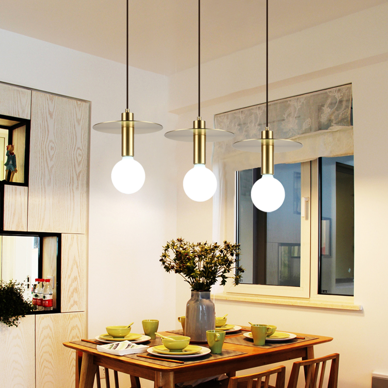 Modern Milk Globe Glass Pendant Lights For Dining Room Bar Restaurant Deco Kitchen Room  ...