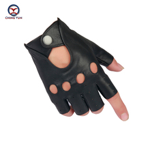 CHING YUN 2019 Man Gloves Leather Fingerless Gloves Tactical