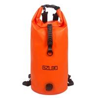 30L Water Bag Outdoor Camping Orange PVC Military Waterproof dry bag Backpack PVC Water Bladder Bag For Hiking Water Bags