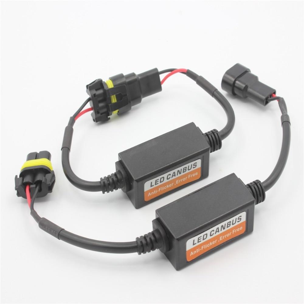 2Pcs Socket HB3 9005 H10 HB4 9006 avtomobilin kapasitör xətası - Avtomobil işıqları - Fotoqrafiya 6