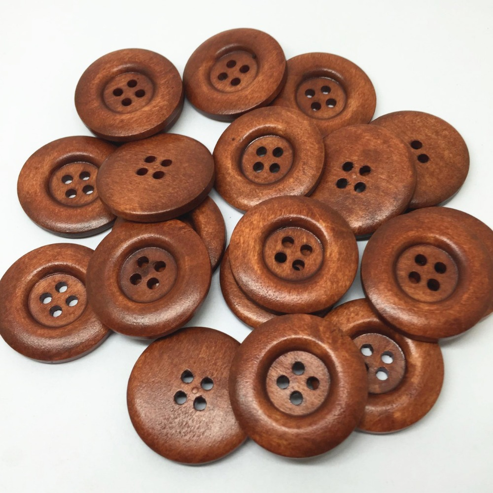Brown Coat Buttons