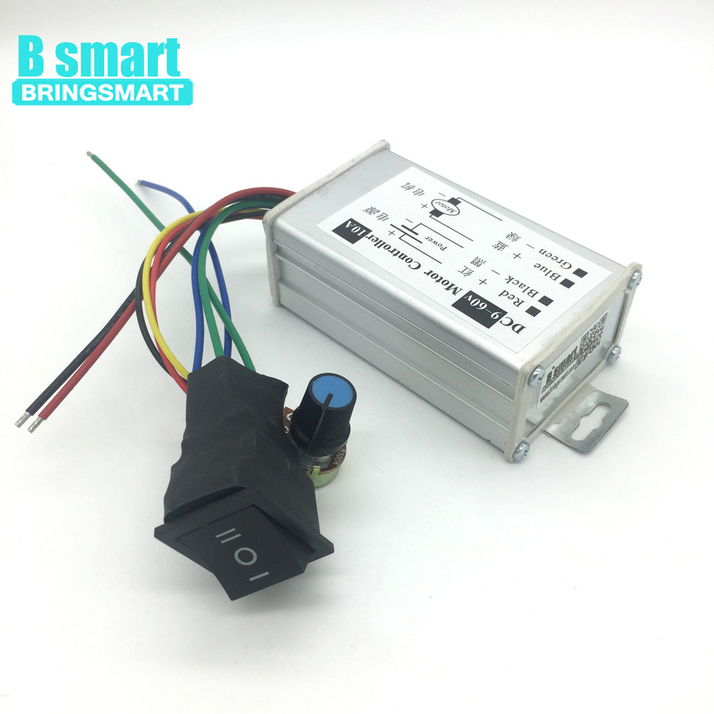 Home Improvement Bringsmart Ccm6d 10a Stepless Motor Speed Controller Support Forward Reverse 9v-60v Dc Motor Controller Pwm Driver Board Careful Calculation And Strict Budgeting