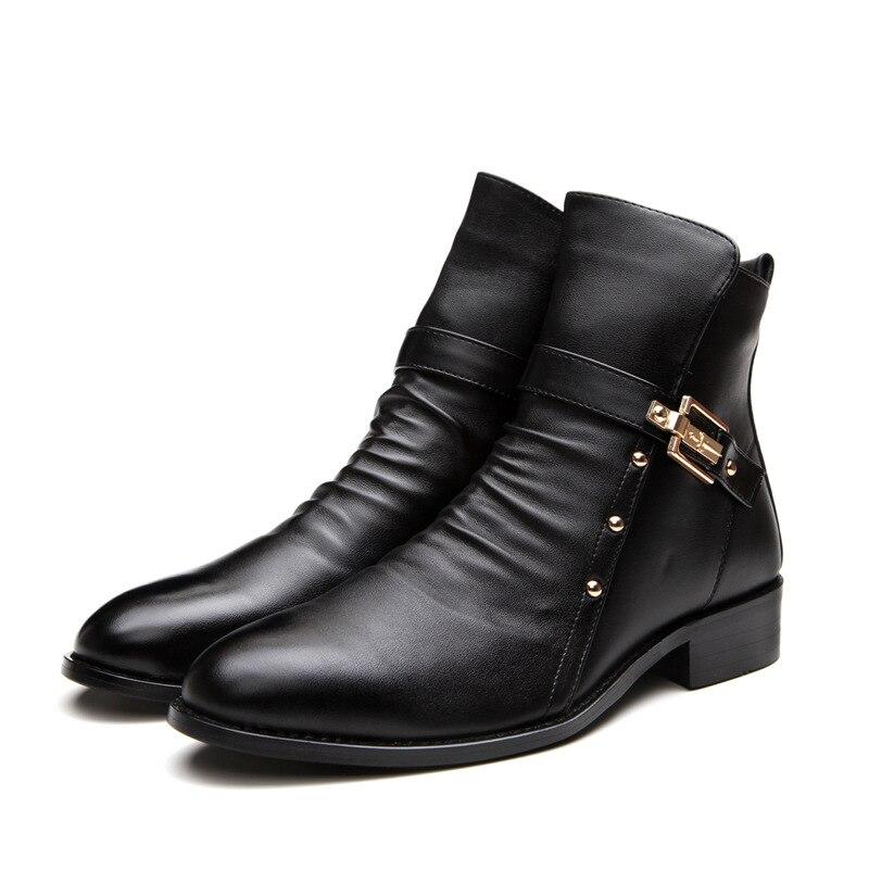 Online Get Cheap Punk Boots Men -Aliexpress.com | Alibaba Group