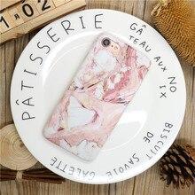Marble Stone Pattern Phone Case  iPhone 6 6s Plus 7 7Plus