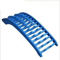 Back Massage Blue Magic Stretcher Lumbar Massage Support Spine Pain Relief Chiropractic Fitness Equipment Stretch Relax