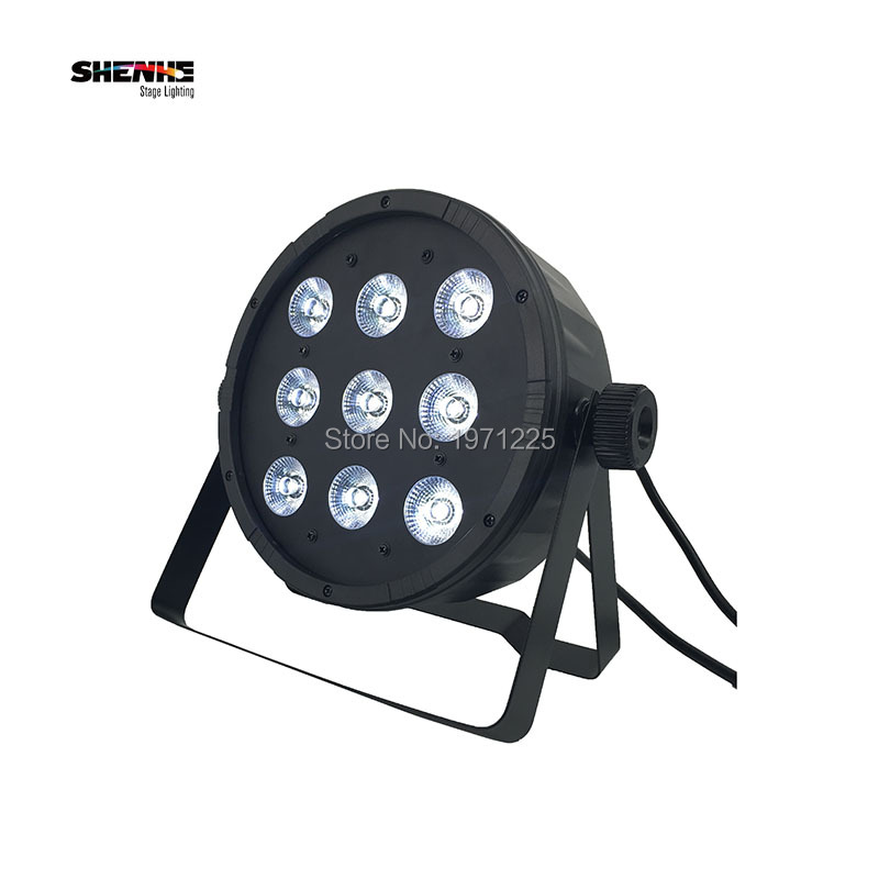 купить DJ Disco Lighting 9x12W RGBW 4in1 Led Par with Strobe Dimming Effect for Professional DMX DJ Party Event Show дешево