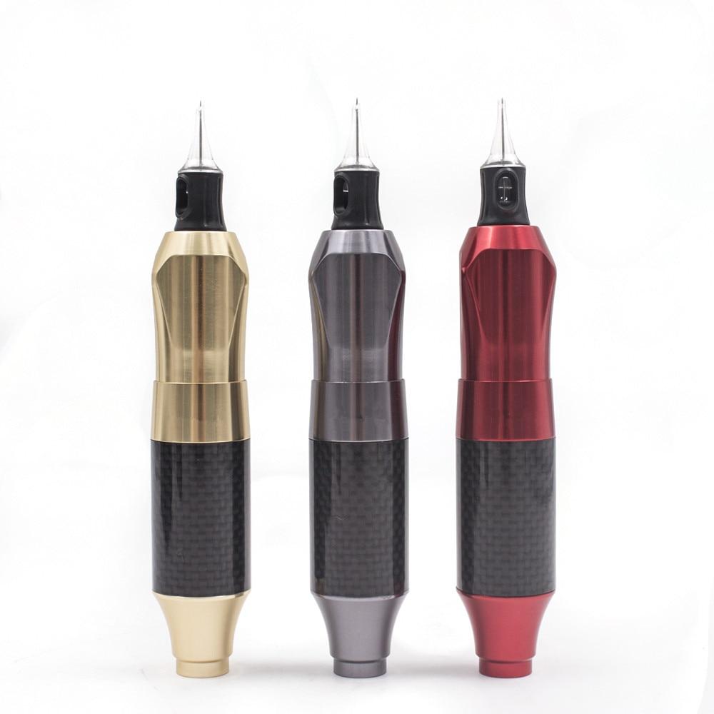 Biomaser Tattoo Rotary ปากกาแต่งหน้าถาวร Tattoo เครื่องอลูมิเนียมปืน 3 ตลับ Strong Quiet Motor Supply-ใน ปืนสัก จาก ความงามและสุขภาพ บน   1