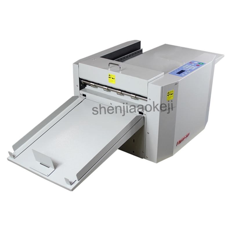 Multifunction high-speed electric Art paper creasing machine Automatic Digital Paper Creaser book spine making 110v/220v все цены