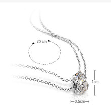 T400 silver anklets double layer Women 925 silver jewelry crystal anklets female bell red string brief