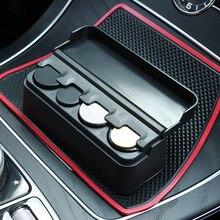 1 шт. автомобильный чехол для монет контейнер для Audi A4 B6 B8 VW Passat B5 B7 Skoda Octavia A7 A5 Renault Megane 2