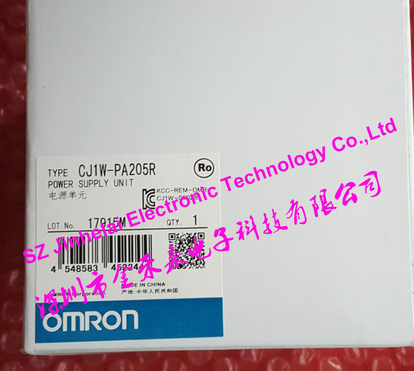 все цены на 100% New and original  CJ1W-PA205R  OMRON  POWER SUPPLY UNIT  Power module онлайн