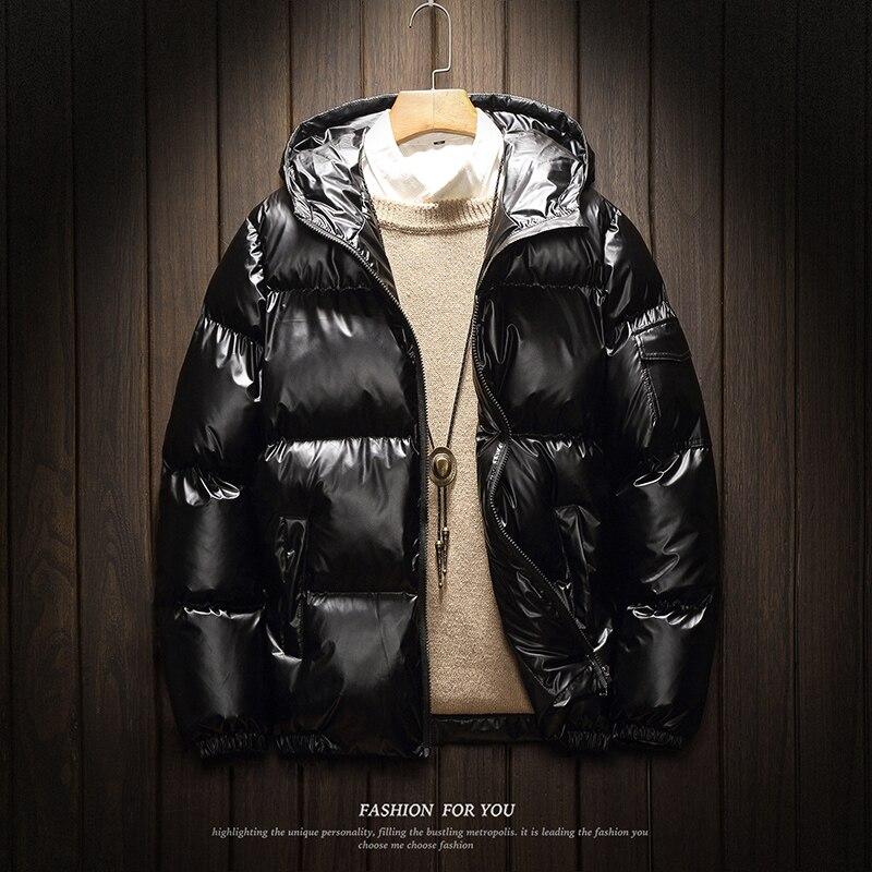 Shiny Herren Winter Parka Männer Baumwolle Jacke Mode Brot Kleidung 2019 Herbst Plus Größe Herren Mit Kapuze Padded 5xl 4xl Xxxl Silber Edler Schmuck