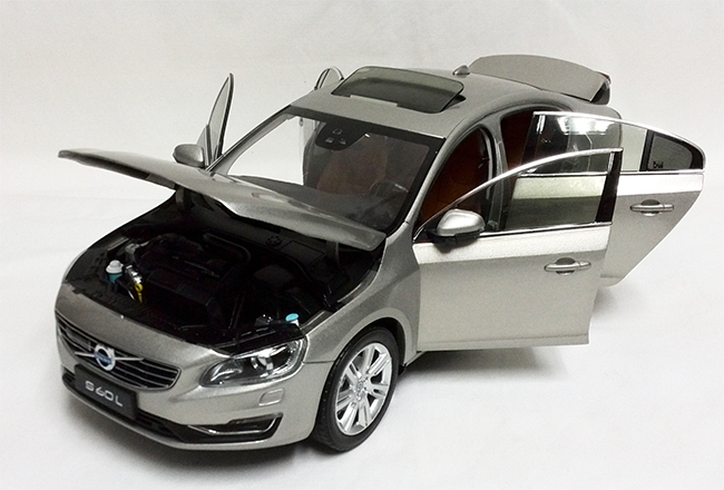 Diecasts Toy Vehicles 1 18 Volvo S60l 2015 Die Cast Model Car In
