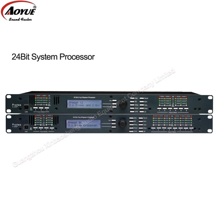 Nouveau Protea DSP 4.8 4x8 Processeur de Haut-Parleur avec le logiciel original spécialisée dans audio professionnel équipements