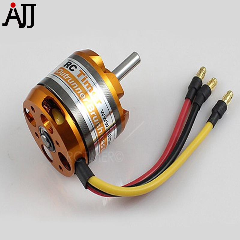 RCTimer BC3536 3536 910KV 1000KV 1250KV <font><b>1450KV</b></font> Outrunner Brushless Motor 5.0mm Shaft BC3536/9/8/6/5 RC Multirotor Motors image