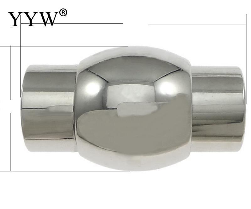 Нержавеющаясталь Магнитная магнетита застежка Женская мода Фонари более размеров для выбора oril цвет 50 шт./лот