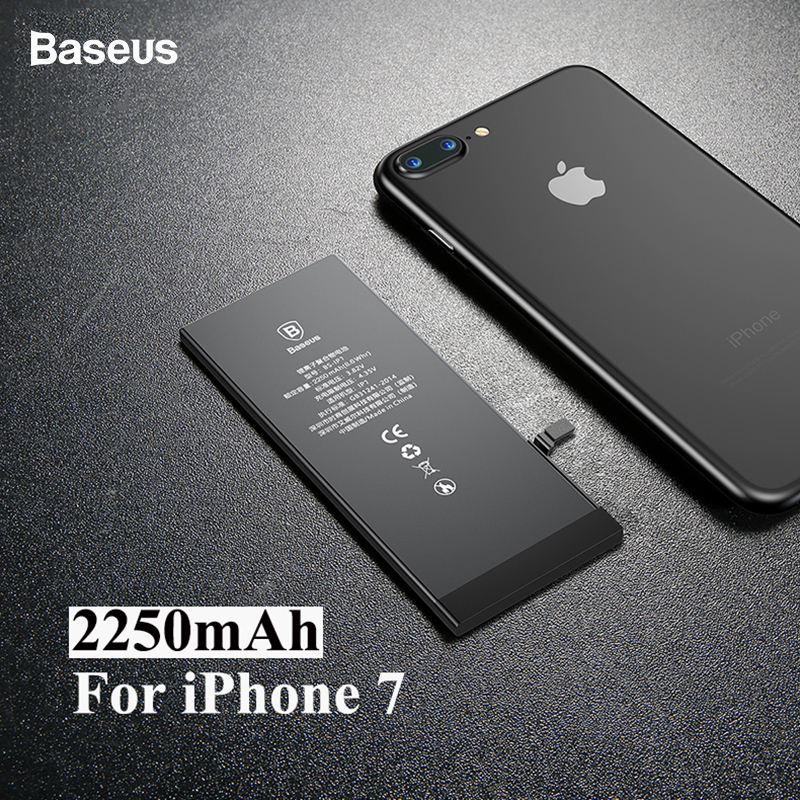 Baseus Lithium-Polymer-Battery IPhone 7 Original Replacement 2250mah For 7G High-Capacity