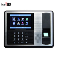SmartYIBA 4.3 Inch TFT TCP/IP Biometric Fingerprint Time Attendance Clock Recorder Employee Recognition Device ID Reader System