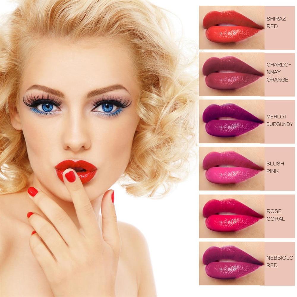 2018 Brand New Makeup Starry Long Lasting Liquid Velvet Matte Lipstick Beauty Waterproof Long Lasting Natural Drop Shipping 3