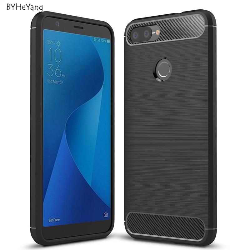 BYHeYang For Asus ZenFone Max Plus M1 Case Silicone TPU Back Cover Phone Case For ASUS ZenFone Max Plus M1 ZB570TL X018D Case