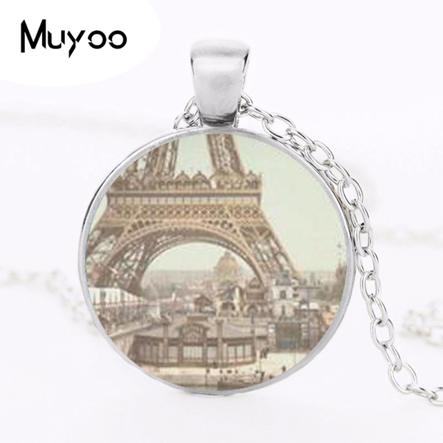 New fashion glass dome necklace vintage eiffel tower necklace eiffel new fashion glass dome necklace vintage eiffel tower necklace eiffel tower pendant paris jewelry hz1 aloadofball Images