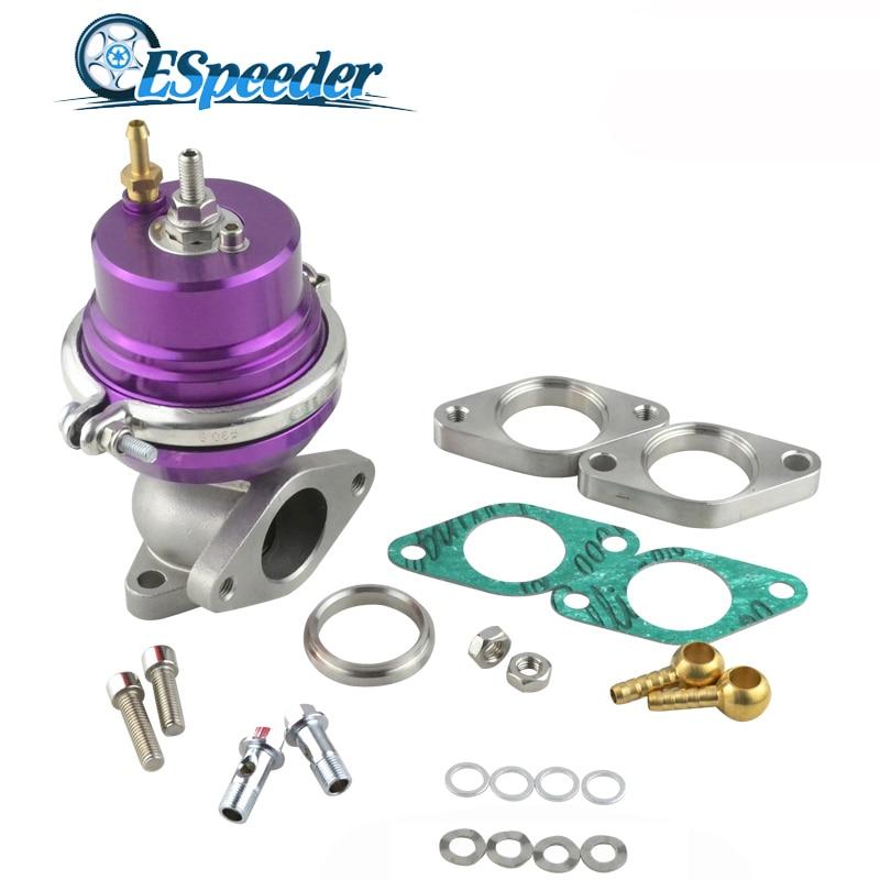 ESPEEDER 38mm Wastegate Turbo External Kit Adjustable Pressure Waste Gate With Flange For Supercharge Turbo Manifold