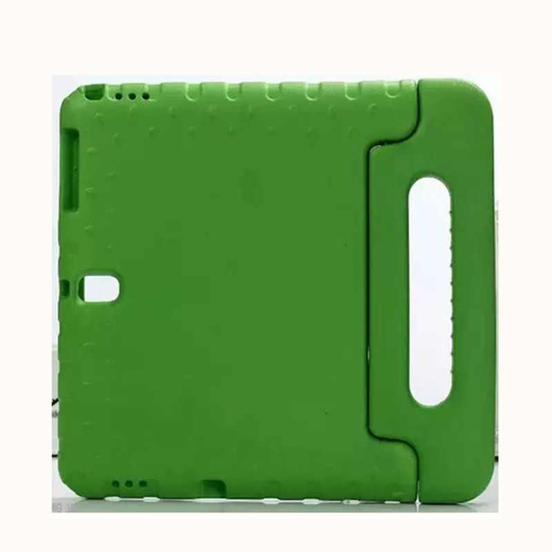 Dzieci EVA etui etui na Samsung Galaxy Tab S 10.5 T800 T805 SM-T800 SM-T805 przypadkach ręczny tabletka pokrywa funda + film + długopis