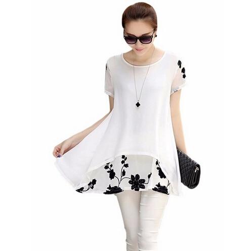 Черный шифон на белом платье
